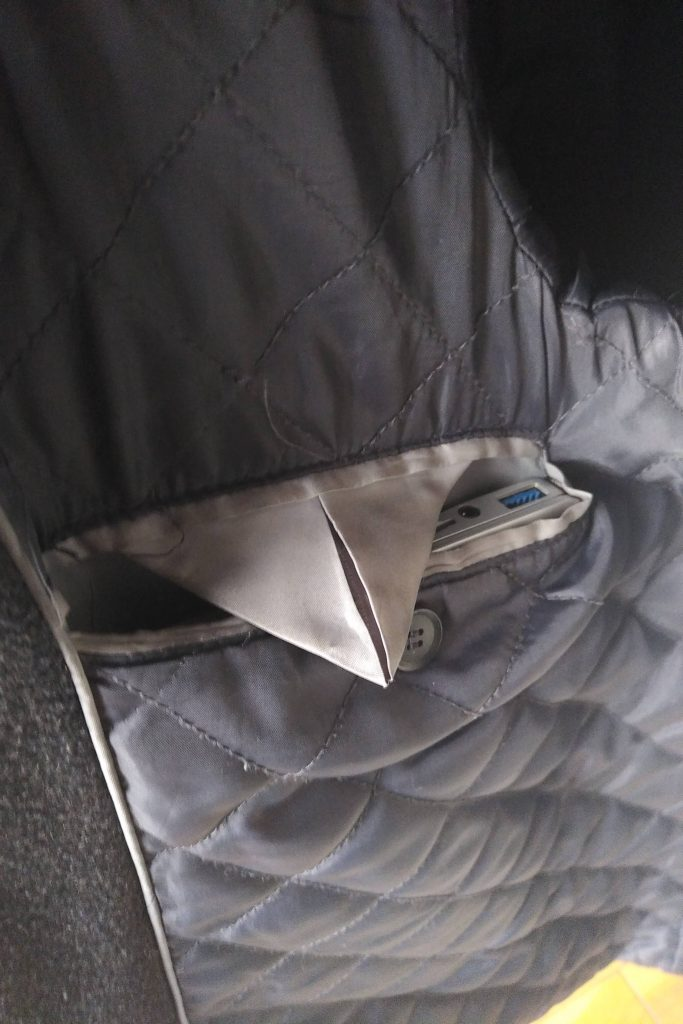 GPD Pocket 2 in jacket pocket